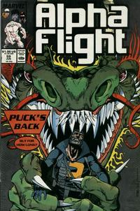 Cover Thumbnail for Alpha Flight (Marvel, 1983 series) #59