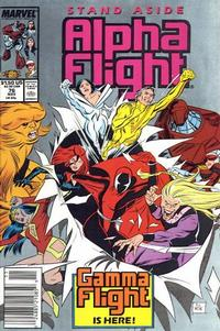Cover Thumbnail for Alpha Flight (Marvel, 1983 series) #76