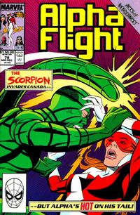 Cover for Alpha Flight (1983 series) #79