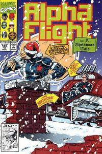 Cover Thumbnail for Alpha Flight (Marvel, 1983 series) #105