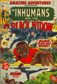 Cover Thumbnail for Amazing Adventures (Marvel, 1970 series) #7 [Regular Edition]