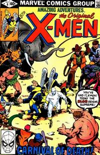 Cover Thumbnail for Amazing Adventures (Marvel, 1979 series) #6