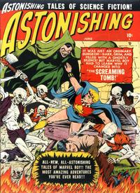 Cover Thumbnail for Astonishing (Marvel, 1951 series) #4