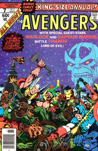 Cover Thumbnail for The Avengers Annual (Marvel, 1967 series) #7
