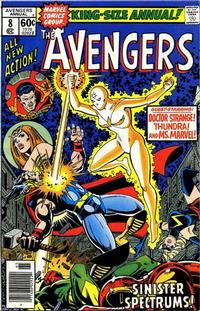 Cover for Avengers Annual (1967 series) #8