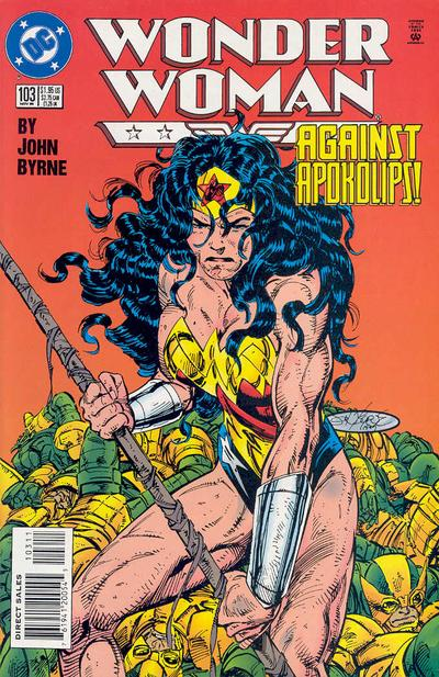 Cover for Wonder Woman (DC, 1987 series) #103