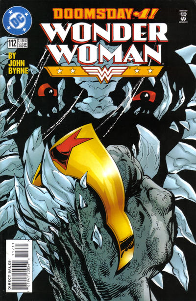 Cover for Wonder Woman (DC, 1987 series) #112
