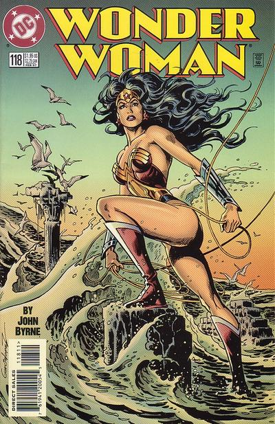 Cover for Wonder Woman (DC, 1987 series) #118