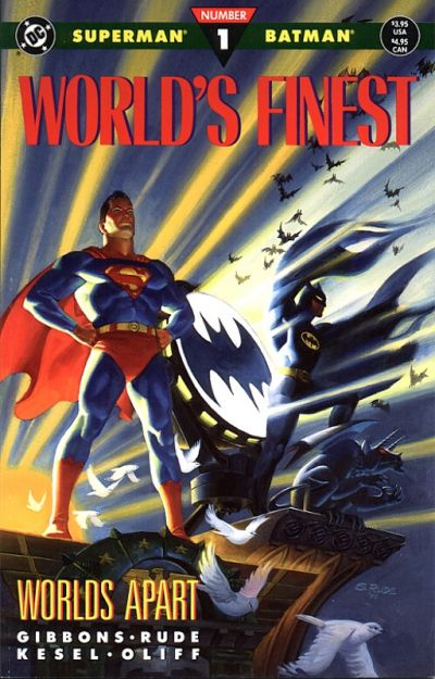 Cover for World's Finest (DC, 1990 series) #1