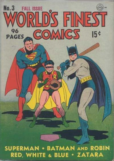 Cover for World's Finest Comics (1941 series) #3