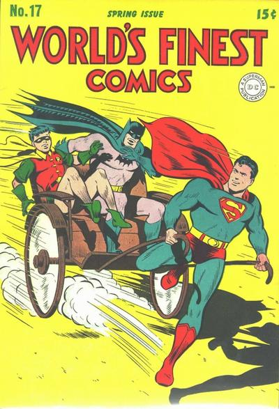 Cover for World&#39;s Finest Comics (1941 series) #17