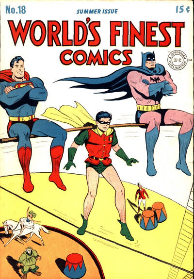Cover for World's Finest Comics (1941 series) #18