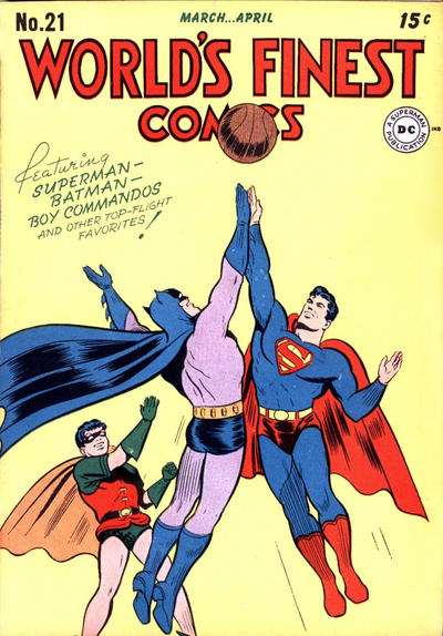 Cover for World's Finest Comics (1941 series) #21
