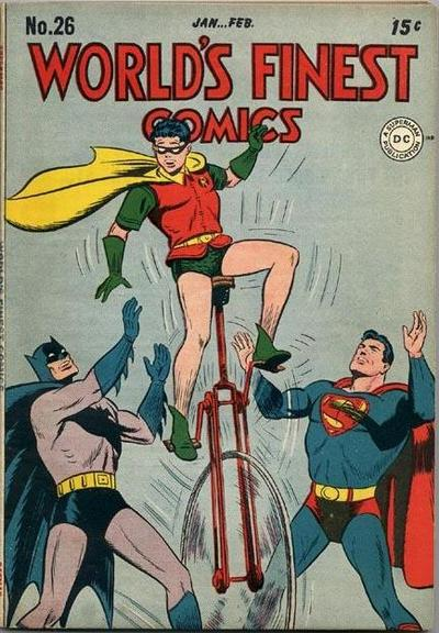 Cover for World's Finest Comics (1941 series) #26