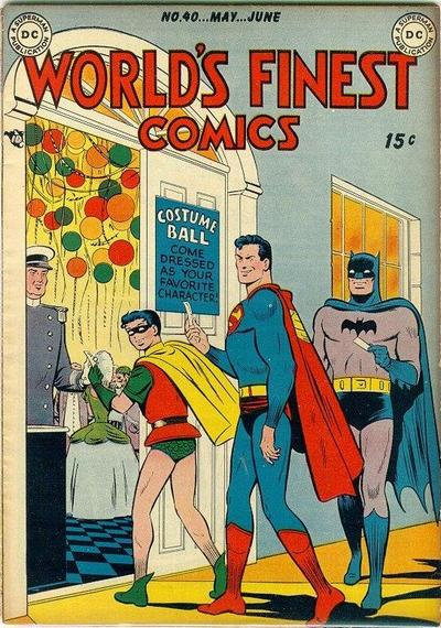 Cover for World&#39;s Finest Comics (1941 series) #40