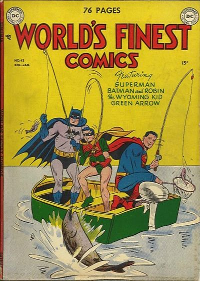 Cover for World's Finest Comics (1941 series) #43