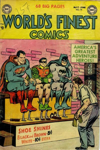 Cover for World's Finest Comics (DC, 1941 series) #70
