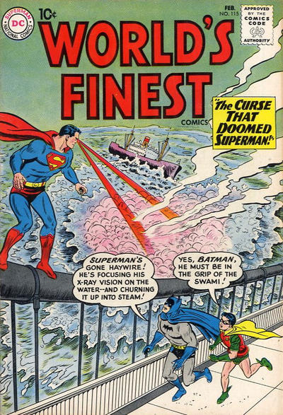 Cover for World&#39;s Finest Comics (1941 series) #115