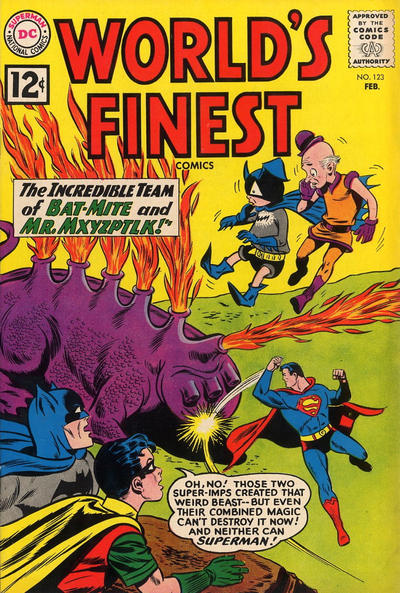 Cover for World's Finest Comics (DC, 1941 series) #123