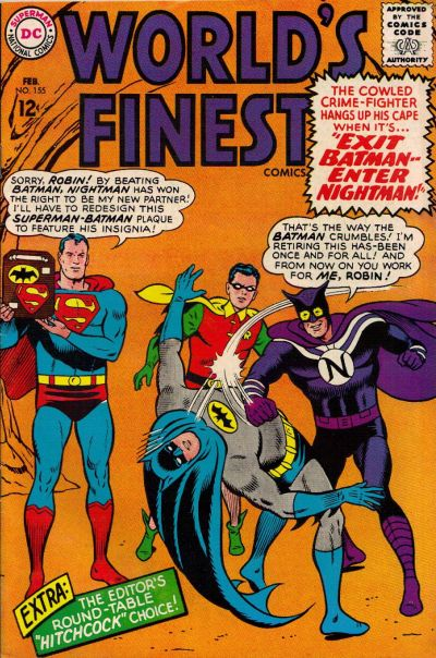 Cover for World's Finest Comics (DC, 1941 series) #155