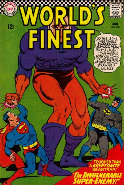 Cover for World's Finest Comics (DC, 1941 series) #158