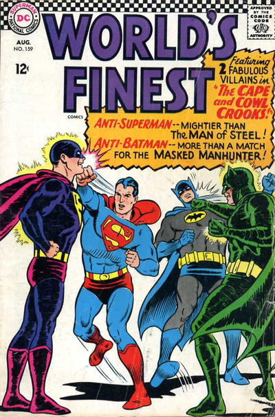 Cover for World&#39;s Finest Comics (1941 series) #159