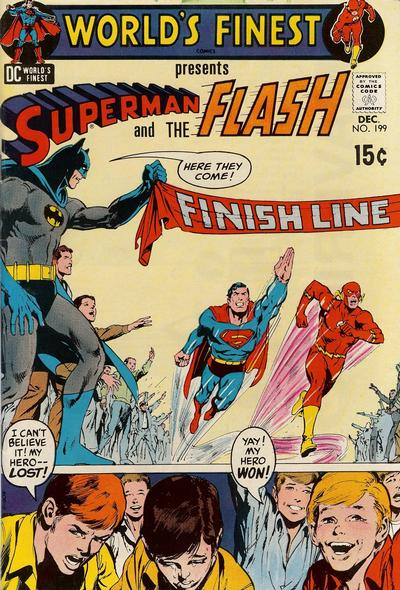 Cover for World's Finest Comics (1941 series) #199