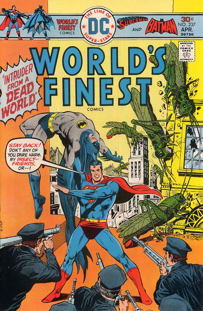Cover for World's Finest Comics (DC, 1941 series) #237
