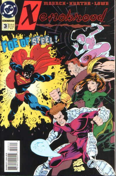Cover for Xenobrood (DC, 1994 series) #3