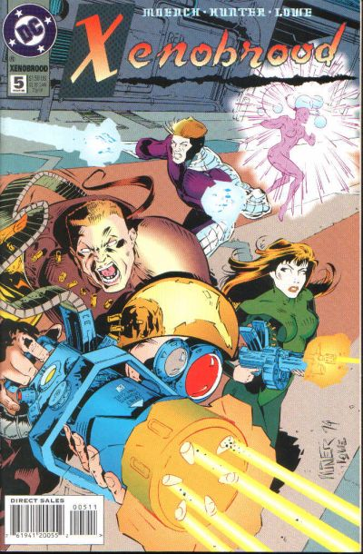 Cover for Xenobrood (DC, 1994 series) #5