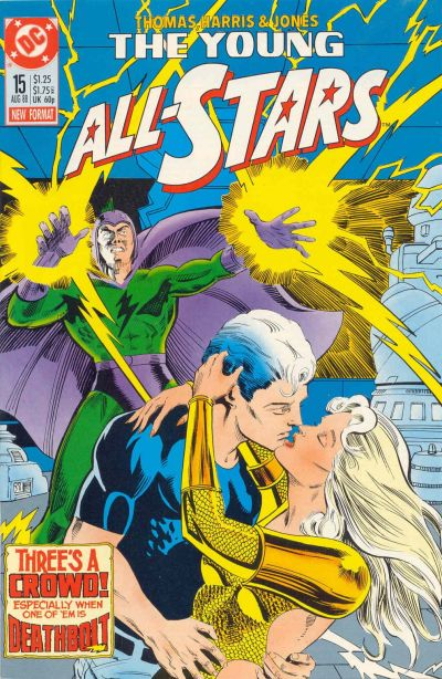 Cover for Young All-Stars (1987 series) #15