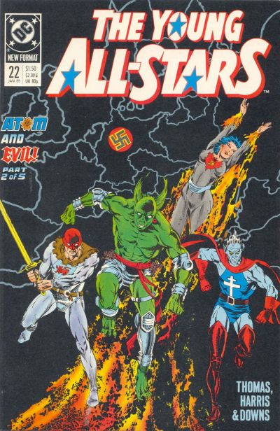 Cover for Young All-Stars (DC, 1987 series) #22