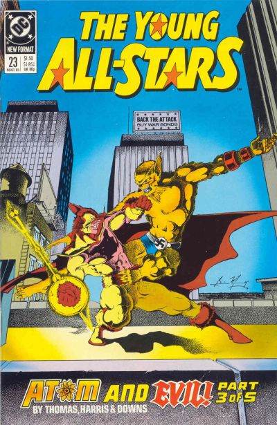 Cover for Young All-Stars (DC, 1987 series) #23