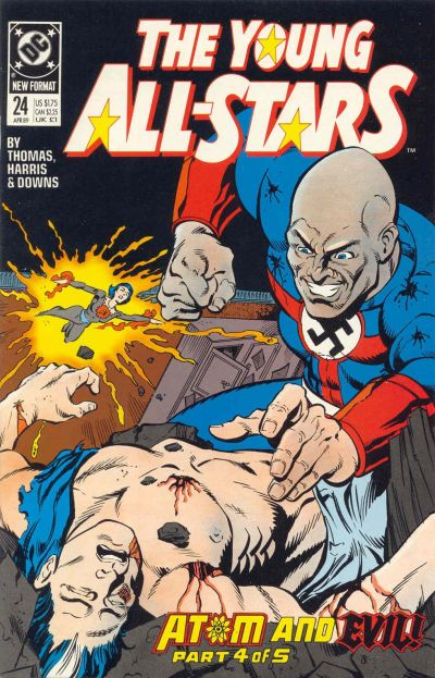 Cover for Young All-Stars (DC, 1987 series) #24