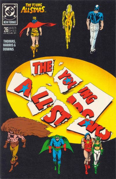 Cover for Young All-Stars (DC, 1987 series) #26