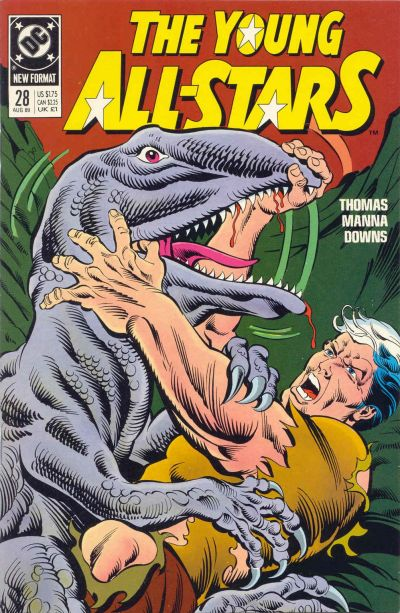 Cover for Young All-Stars (DC, 1987 series) #28