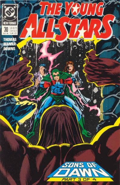 Cover for Young All-Stars (DC, 1987 series) #30