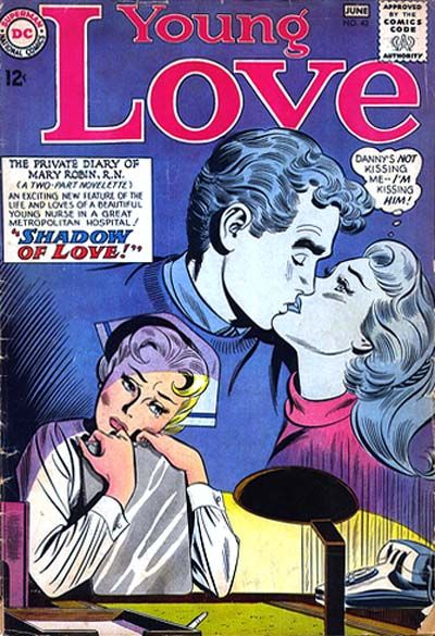 Cover for Young Love (1963 series) #43