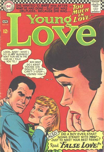 Cover for Young Love (DC, 1963 series) #54