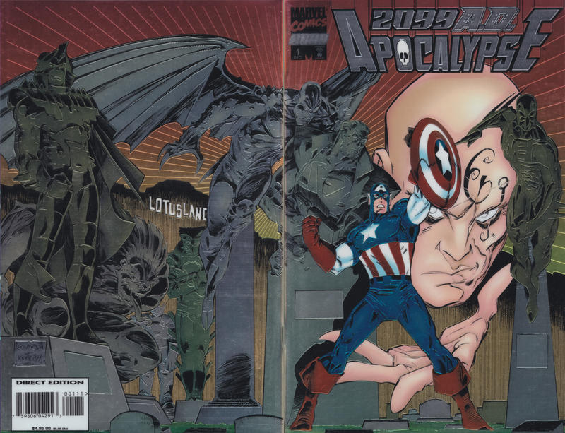 Cover for 2099 A.D. Apocalypse (Marvel, 1995 series) #1