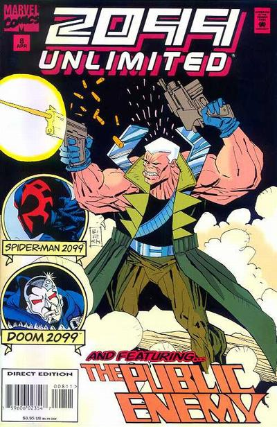 Cover for 2099 Unlimited (Marvel, 1993 series) #8