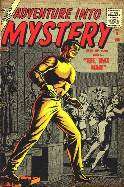 Cover for Adventure Into Mystery (Marvel, 1956 series) #6
