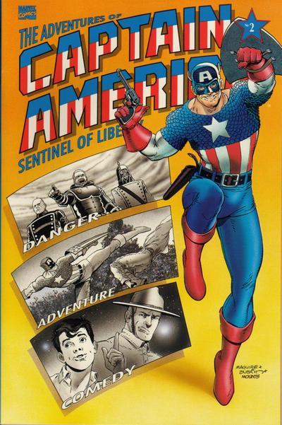 Cover for The Adventures of Captain America (Marvel, 1991 series) #2