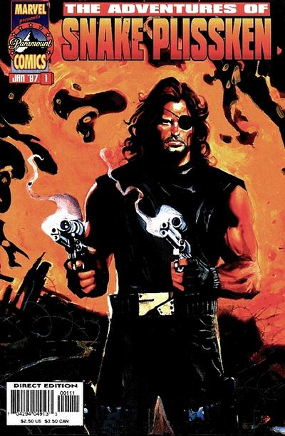 Cover for Adventures of Snake Plissken (1997 series) #1