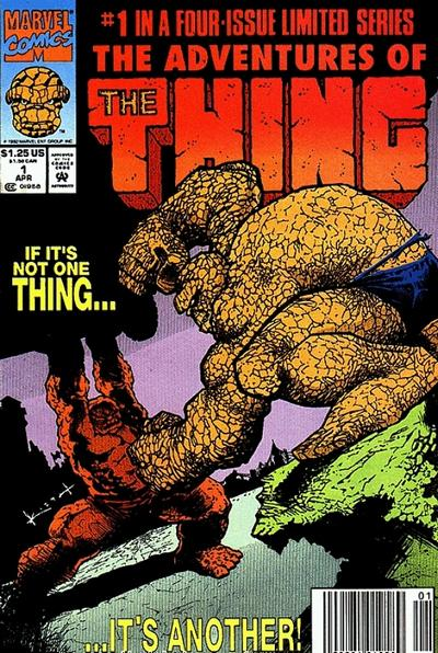 Cover for The Adventures of the Thing (1992 series) #1