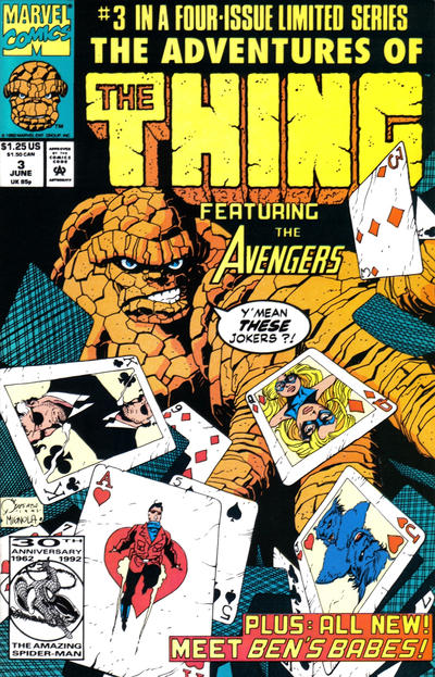 Cover for The Adventures of the Thing (Marvel, 1992 series) #3