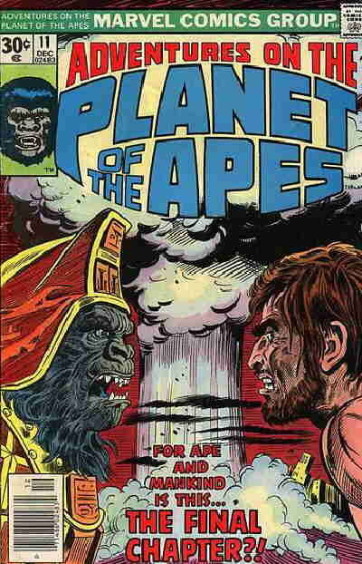 Cover for Adventures on the Planet of the Apes (1975 series) #11