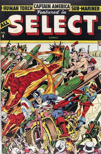 Cover for All Select Comics (1943 series) #4
