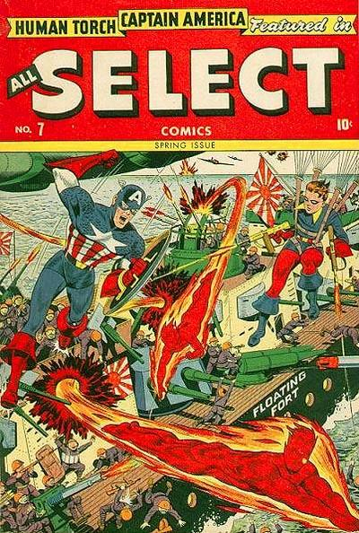 Cover for All Select Comics (1943 series) #7
