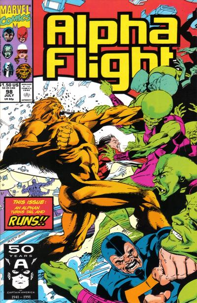 Cover for Alpha Flight (1983 series) #98